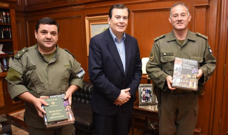 El encuentro con los jefes de Gendarmería se realizó en Casa de Gobierno.