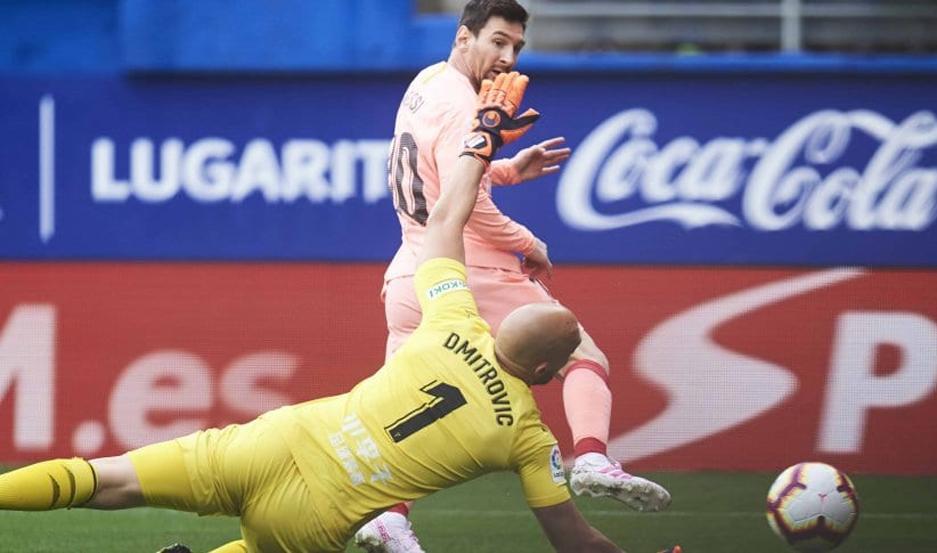 Messi marcó un doblete.