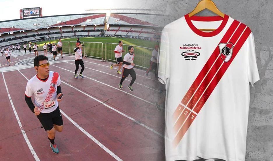 Las camisetas del Maratón.