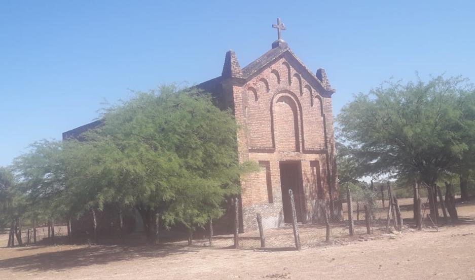 Cada mes de junio, la capilla se llena de bullicio en la fiesta patronal en honor al Sagrado Corazón de Jesús.