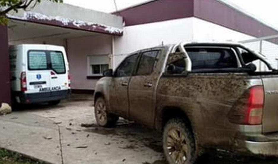 Los rescatistas emplearon amplificadores de señal vehicular,  para poder saber el lugar exacto donde estaba la camioneta con la familia atrapada.