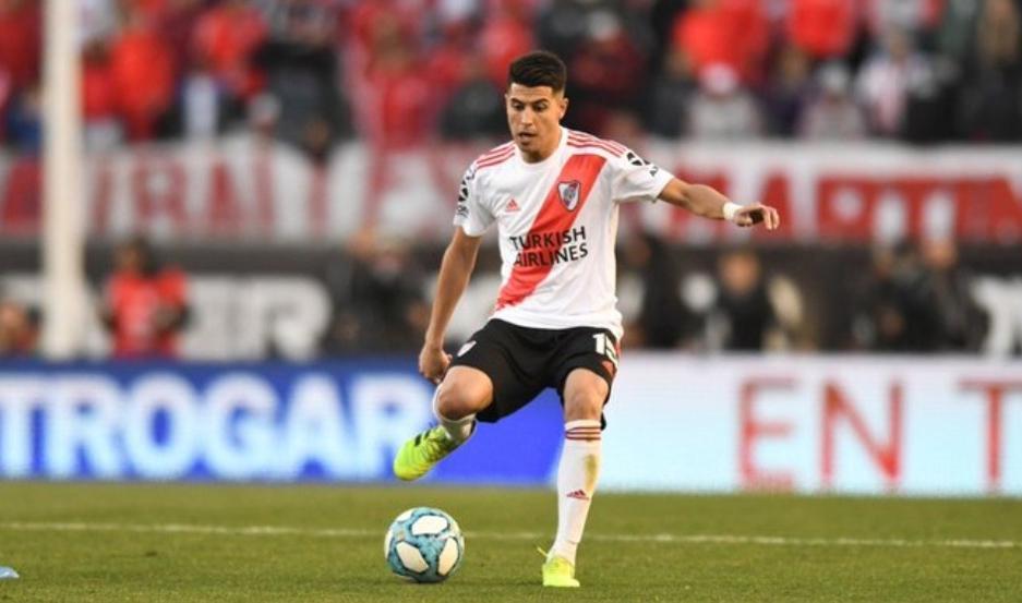 """El mediocampista ofensivo de River, Exequiel Palacios, es uno de los puntos altos en el equipo de Marcelo Gallardo. El """"Tucu"""" va por todo."""