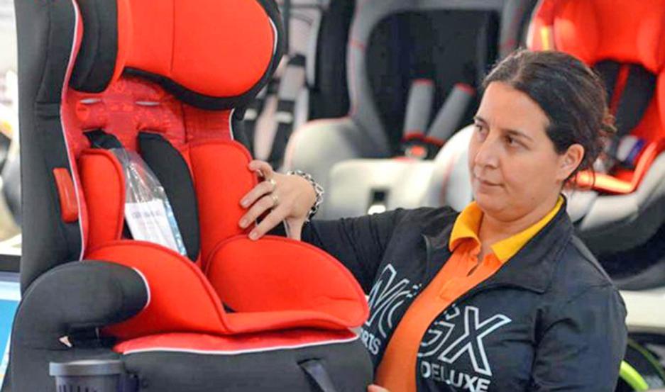Existen sillas con características especiales según la edad y el peso de los chicos que las vayan a utilizar.