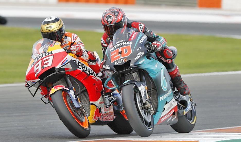 Márquez consiguió de esta manera cerrar un nuevo campeonato de la mejor manera.