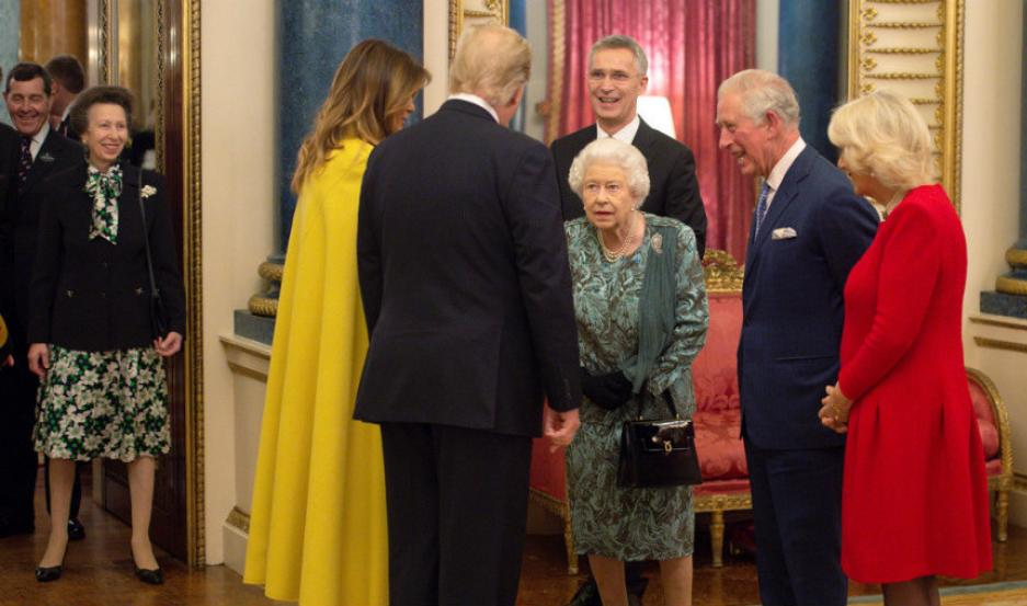 El momento en el que la reina regaña a su hija.