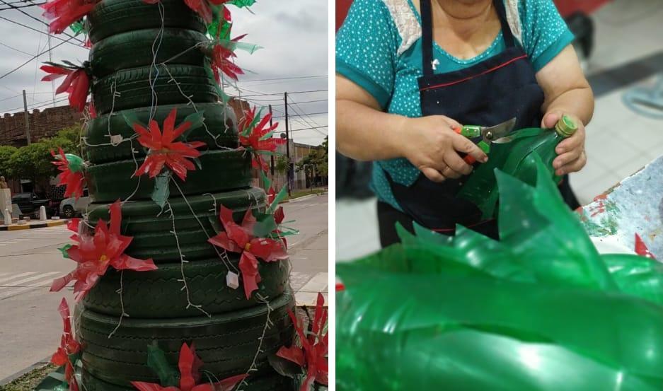Navidad Eco Solidaria en Fernández.